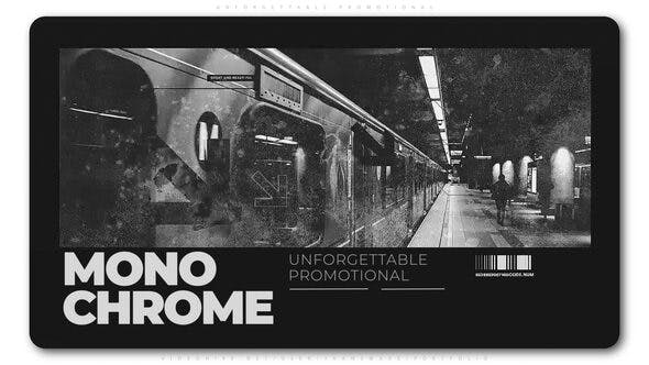 Monochrome After Effects Templates Free Download Picgiraffe.com