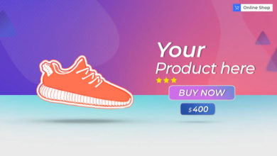 Online Store After Effects Templates Free Download Picgiraffe.com