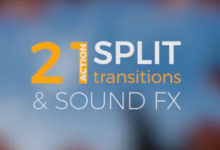 Photo of Split Transitions Premiere Pro Templates