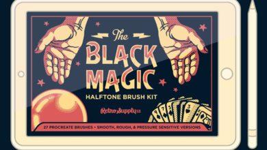 black magic halftones for procreate free download picgiraffe.com