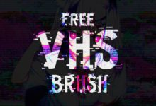 freenew vhs effect brush new version free download picgiraffe.com