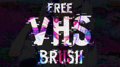 freenew vhs effect brush new version free download picgiraffe.com