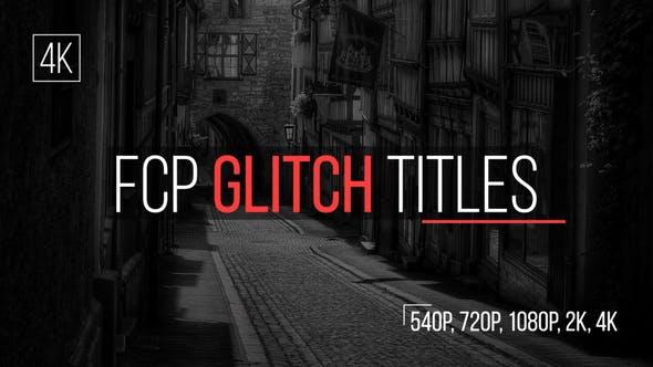 glitch titles apple motion templates free download picgiraffe.com