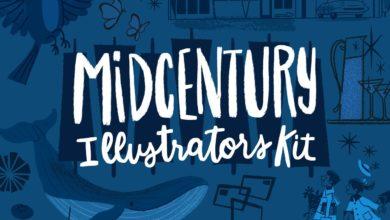 midcentury illustrators kit procreate brushes free download picgiraffe.com