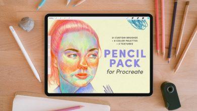 pencil pack – procreate brushes free download picgiraffe.com