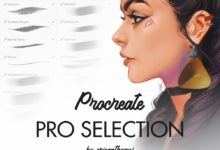 pro selection procreate brushes free download picgiraffe.com