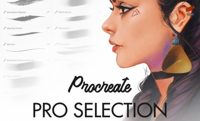 pro selection procreate brushes free download picgiraffe.com