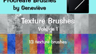procreate brushes – textures vol.1 free download picgiraffe.com