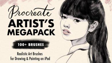 procreate brushes artists megapack free download picgiraffe.com