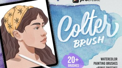 procreate colter brush watercolor free download picgiraffe.com