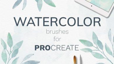 procreate watercolor brushes free download picgiraffe.com