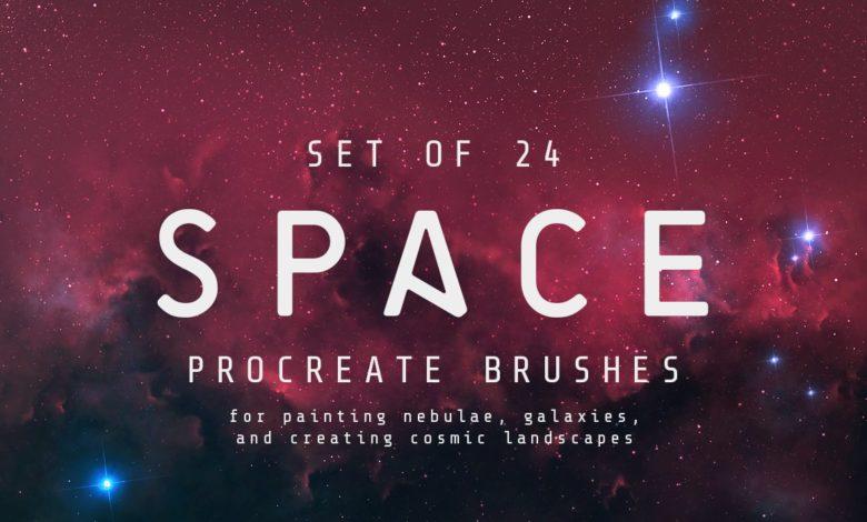 space procreate brushes set of 24 free download picgiraffe.com