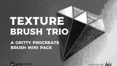 texture brush trio pack for procreate free download picgiraffe.com