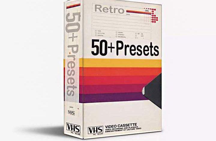 VHS Presets Pack Free Download Picgiraffe.com