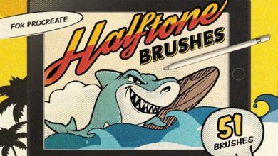 vintage comic procreate brushes free download picgiraffe.com