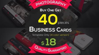 40 photography business cards bundle 4606406 free download picgiraffe.com