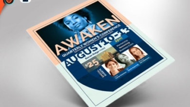 awaken womens conference flyer 1536972 free download picgiraffe.com