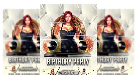 birthday party flyer 2847266 free download picgiraffe.com