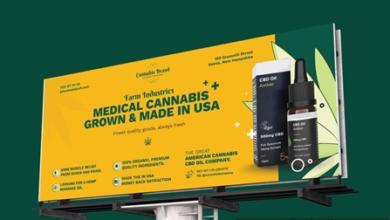 cannabis hemp oil billboard psd template wufyznx free download picgiraffe.com