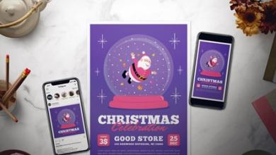 christmas celebration flyer set b3mca6a free download picgiraffe.com