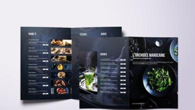 fresh minimal bifold a4 us letter food menu 7yybs2c free download picgiraffe.com