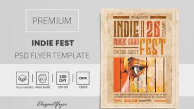 indie fest – premium psd flyer template 116134 free download picgiraffe.com