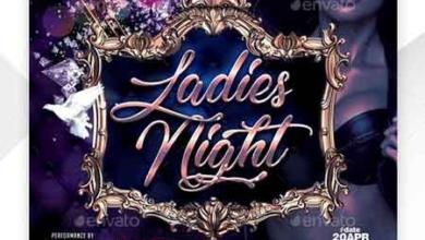 ladies night flyer template 22660846 free download picgiraffe.com