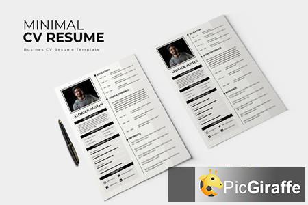 minimal – cv resume vksrnvj free download picgiraffe.com
