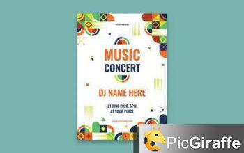music festival poster ktll8t3 free download picgiraffe.com
