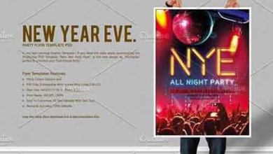 new year eve party flyer 3076606 free download picgiraffe.com