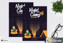 night camp – flyer gr ltqw4m7 free download picgiraffe.com