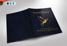 passport funeral program template 858925 free download picgiraffe.com