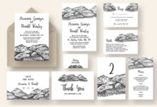 pen and ink mountain wedding suite 1071059 free download picgiraffe.com