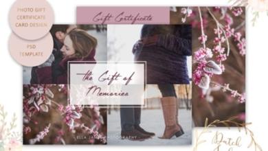 photo gift card psd template 1512031 free download picgiraffe.com