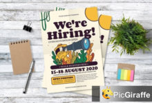 playful job vacation flyer xszm5ul free download picgiraffe.com