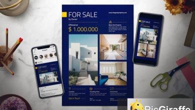 real estate flyer set free download picgiraffe.com