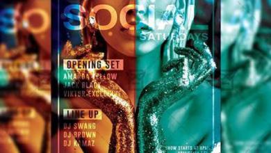 social saturdays flyer – club a5 template 19840 free download picgiraffe.com