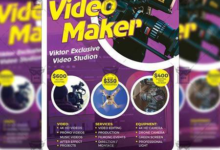 videomaker – business a5 flyer template 19530 free download picgiraffe.com