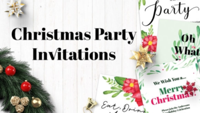 watercolor christmas party invitations 1997290 free download picgiraffe.com