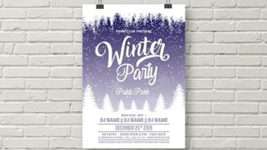 winter party flyer template 1823575 free download picgiraffe.com